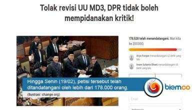 Petisi UU MD3