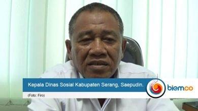 Kepala Dinas Sosial Saepudin