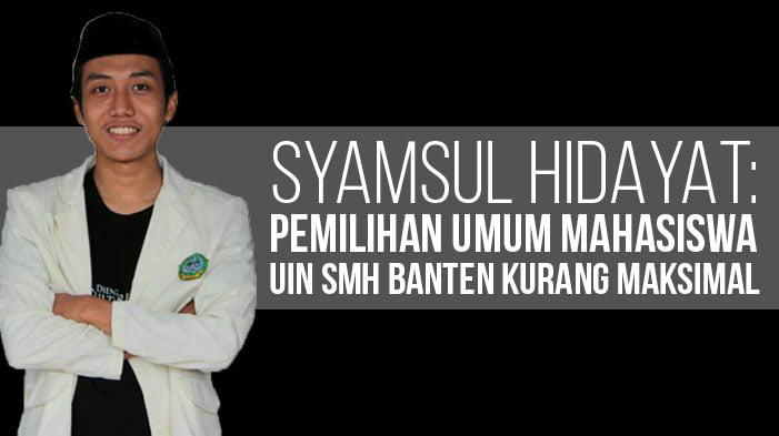 Syamsul Hidayat