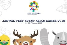 Test Event Asian Games 2018