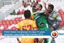 PSMS vs Sriwijaya FC