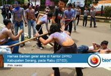 Photo of Gambarkan Kondisi Masyarakat Kabupaten Serang, Hamas Lakukan Aksi Teatrikal