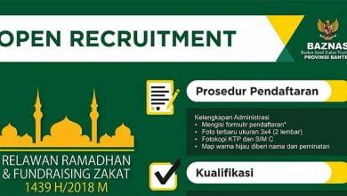 Photo of Cari Pekerjaan? Loker dari Baznas Banten Ini Bisa Jadi Pilihan Anda