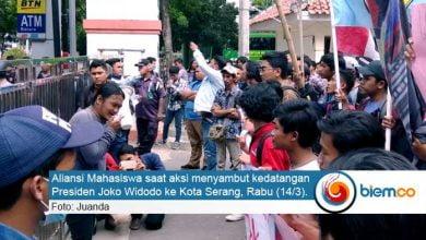 Kunjungan Jokowi ke Kota Serang