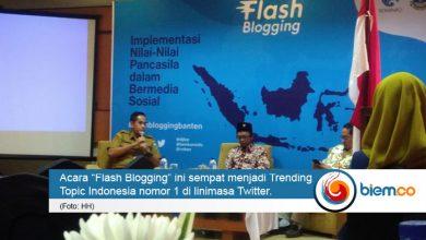 Flash Blogging Banten
