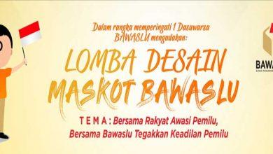 Photo of Ikuti Lomba Desain Maskot Bawaslu, Vlog, dan Karya Jurnalistik, Total Hadiah Rp73 Juta