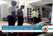 Razia Miras di Kota Serang