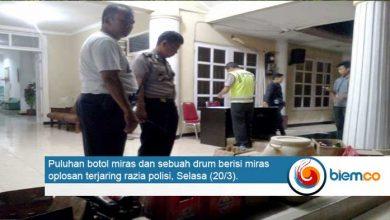 Photo of Razia Penyakit Masyarakat di Kota Serang, Puluhan Botol Miras Diamankan