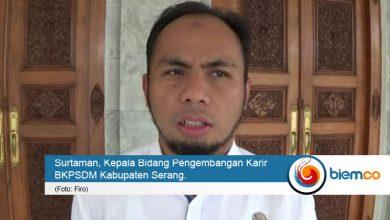 Photo of Pemilihan Sekda Belum Dilakukan, Pemkab Serang Masih Tunggu Pansel Provinsi