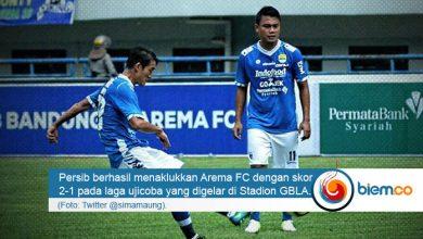 Ujicoba Persib Bandung