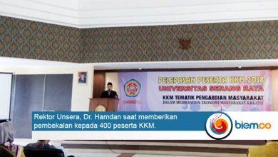 Photo of Amalkan Tri Dharma Perguruan Tinggi, Unsera Kerahkan 400 Mahasiswa untuk Mengabdi