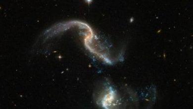 Photo of NASA Berhasil Abadikan Tabrakan Dua Galaksi