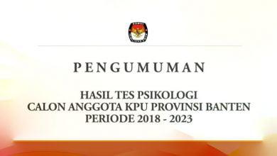 Anggota KPU Provinsi Banten