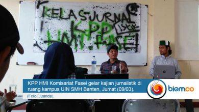 Photo of Kembangkan Bakat Kader, HMI Komisariat Fasei Gelar Kajian Jurnalistik