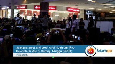 Meet and Great Ariel dan Rio
