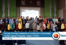 Photo of Munas Formipa Terselenggara Pertama Kali di Banten