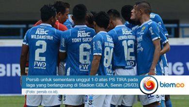 Persib Bandung vs PS Tira