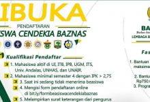 Beasiswa Cendekia Baznas