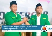 Photo of Sholeh Syafei Nahkodai GP Ansor Kota Cilegon