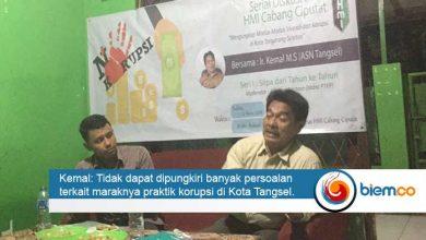 Photo of Bidang PTKK HMI Cabang Ciputat, Gelar Diskusi Menyoal Korupsi di Tangsel