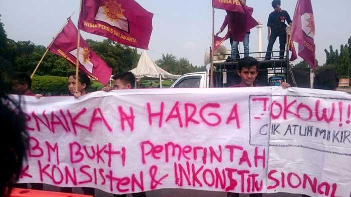 Hima Persis Jakarta BBM Naik