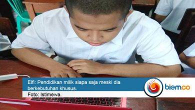 Photo of Siswa Berkebutuhan Khusus PKBM Talenta Center Ikuti UNBK