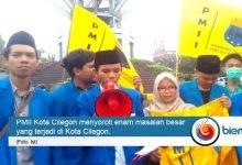 Photo of PMII Soroti Rapor Merah Kota Cilegon, Plt Walikota Dituntut Mundur