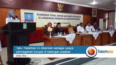 Photo of Pejabat Kabupaten Serang Digembleng Cegah Korupsi
