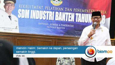 Photo of Disnaker Provinsi Banten Gelar Penerimaan, Pelatihan, dan Penempatan Kerja SDM Industri