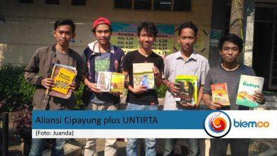 "Photo of Aliansi Mahasiswa Cipayung plus Untirta Gelar Program ""Mencandu Buku"""