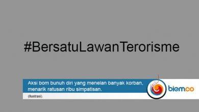 Bersatu Lawan Terorisme