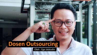 Photo of Ega Jalaludin: Dosen Outsourcing
