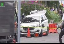 Photo of Foto: Mobil Bernopol BM 1192 LO, yang Digunakan Tersangka di Mapolda Riau