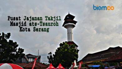 Photo of Foto: Mengintip Pasar Takjil di Kota Serang