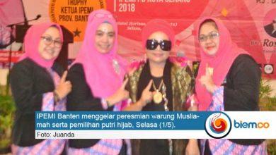 Photo of Resmikan Warung Muslimah, Ipemi Adakan Lomba Busana Muslim dan Pemilihan Putri Hijab