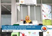 Photo of Laily Aulia Nur: Keluarkan Rezeki Kita untuk Orang yang Membutuhkan