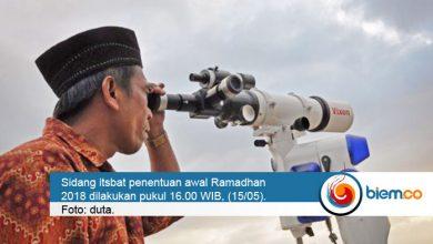 Pemantauan Hilal Awal Ramadhan