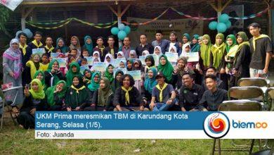 Photo of UKM Prima UIN SMH Banten Resmikan TBM di Kota Serang
