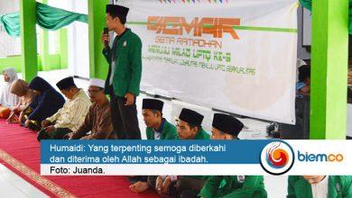 Photo of Milad ke-9 UKM UPTQ, Humaidi: Ini Bentuk Ibadah Kami di Bulan Ramadhan
