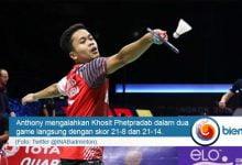 Photo of Piala Thomas 2018: Anthony Sinisuka Ginting Bawa Indonesia Ungguli Thailand 1-0