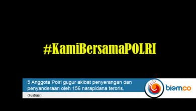 #KamiBersamaPOLRI
