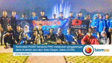Photo of Komunitas PUSAT Bersama PWC Galang Dana untuk Yatim Piatu dan Dhuafa