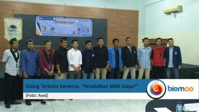 """Photo of Rayakan Hardiknas, DEMA UIN Syarif Hidayatullah Gelar Dialog Terbuka bertema """"Pendidikan Milik Siapa?"""""""