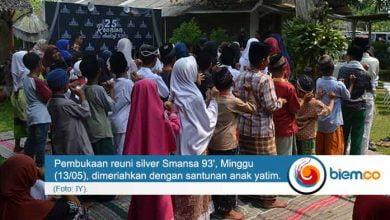 Photo of Panitia Reuni Silver Smansa 93' Lakukan Santunan Anak Yatim