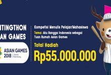 Photo of Ikuti Kompetisi Menulis Pelajar/Mahasiswa Asian Games, Raih Rp55 Juta