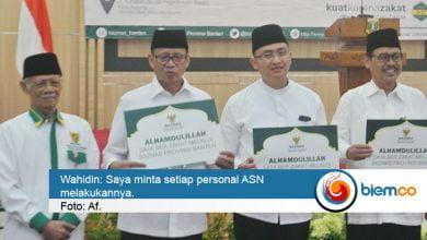 Photo of Gubernur Banten Intruksikan Baznas untuk Tagih Zakat para ASN