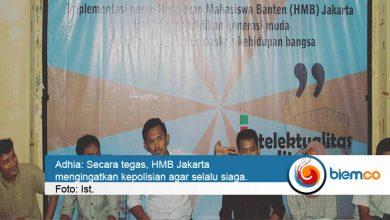Photo of Jelang Lebaran, HMB Jakarta Minta Polda Banten Siap Siaga