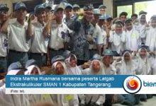 Photo of Puluhan Peserta Ekskul SMAN 1 Kabupaten Tangerang Ikuti Latihan Gabungan