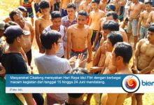 Perayaan Idul Fitri Desa Cikalong