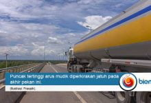 Photo of Truk Dilarang Lintasi Tol Jakarta-Cikampek Selama Puncak Arus Mudik